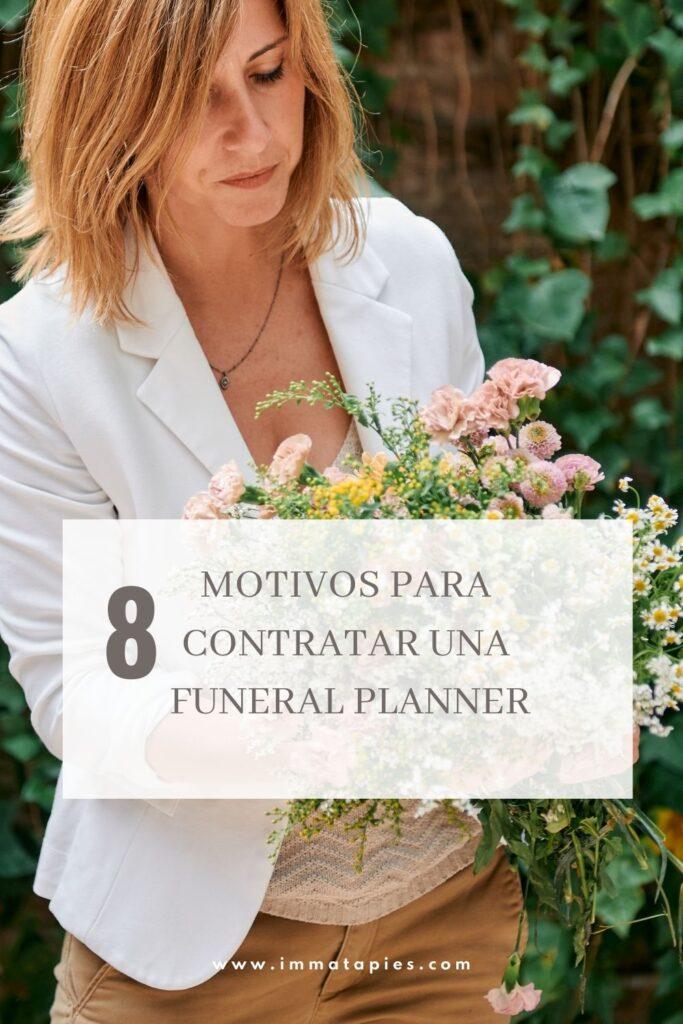contratar un funeral planner